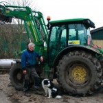 Erik Holm Andersen runs his tractor on home grown canola oil