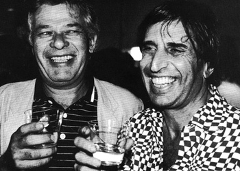 John Chamberlain and Mickey Ruskin