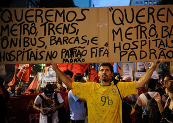 """""""We want 'FIFA-standard' metro, trains, buses, ferries and hospitals."""""""