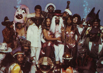 Just another Parliament Funkadelic day.