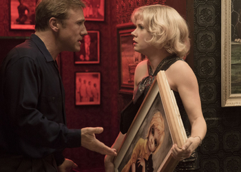 Christoph Waltz and Amy Adams as Walter and Margaret Keane.
