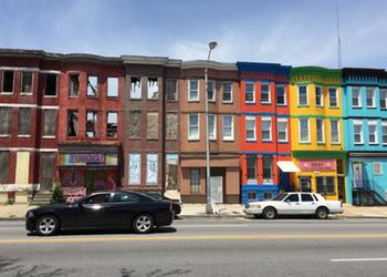 North Avenue, near Everyone's Place.