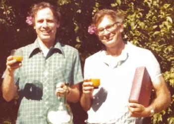 Amos Tversky and Daniel Kahneman.